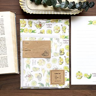 Letterset Lemon & Lime