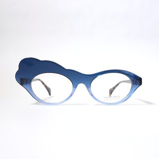 Moku-Moku col.125 (blue gradation) eyewear glasses
