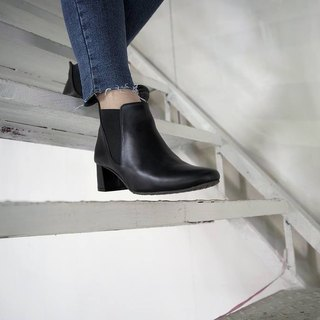 WL Turns Boots 跟靴(Black)原力黑-Pinkoi专属