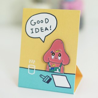 Good Idea Starfy Badge_ pink