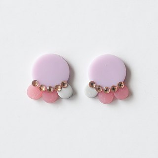 Limited / earring with earrings / earrings