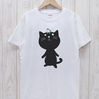 Knee Ten Zero Nyan Tee frog (White) / RIT 006 - WH