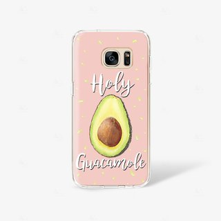Avocado iPhone 8 Case Clear iPhone 7 Plus Case iPhone 6s Case iPhone X Case
