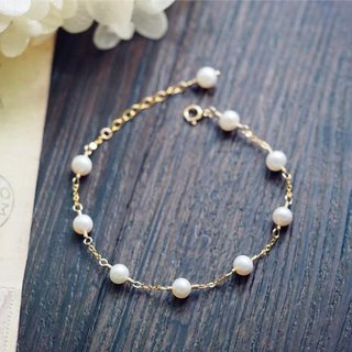 pearl Anklet June birthstone bring happiness Freshwater pearl anklets carrying happiness June birthstone