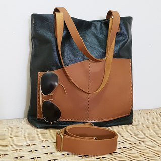GENUINE LEATHER Tote / Sling Bag / Shoulder Bag / Crossbody Bag / Women Bag