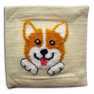 Corgi Fabric Coaster 哥基 · 布杯垫