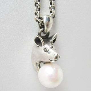 Pearls to swine NECKLACE