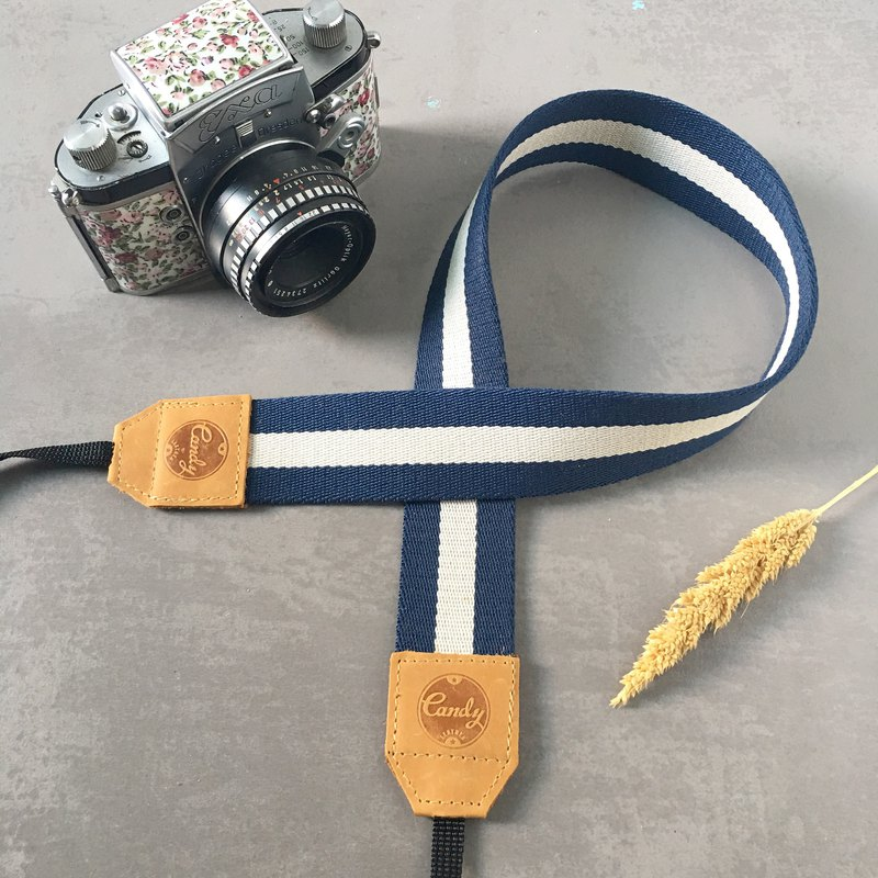 Navy Gray Mirrorless or DSLR Camera Strap