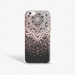 Mandala iPhone 6/6S Case, Black iPhone 6 Case, Black iPhone 6S Case, Henna iPhone 6 Case, Bohemian iPhone Case