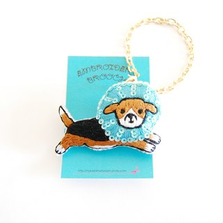 Order Production Elizabeth Color Beagle 2way Bag Charm
