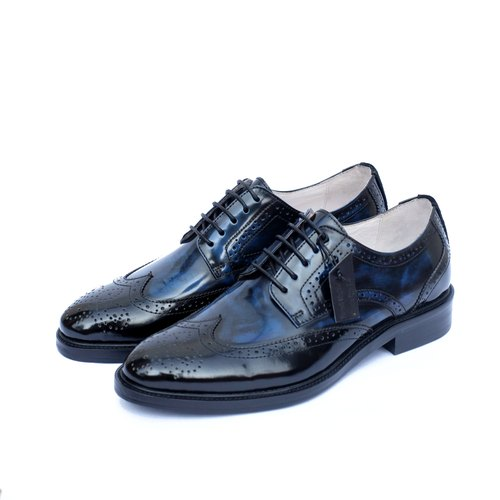 Placebo 4.0 brush off darkblue wingtips
