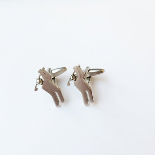 高尔夫球手袖扣 Golf Player Cufflink