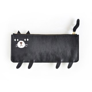 Case black cat put Toka pen