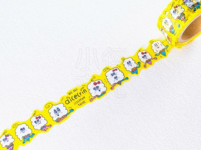 Small Culture Collaboration Masking Tape Lovery aicecrin