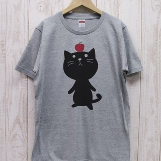 Knee Ten Zero Nyan Tee Apple (Heather Gray) / RIT001 - GR