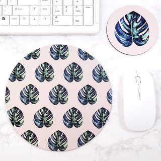 Pattern Mouse pad Tropical Desk Mat Natural Office Decor For Women