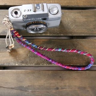 Crazy-color hand strap