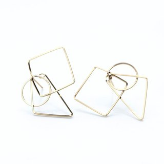 14 kg f - figure easy catch pierced earrings