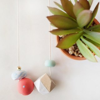 The Geometric Series Necklace – Phyllis by unit515