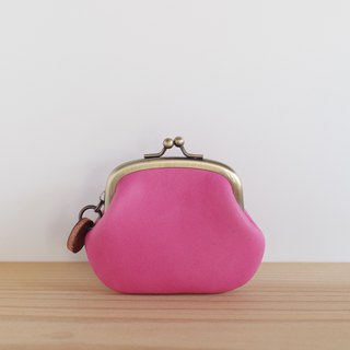 Leather Coin Pink Coin Purse