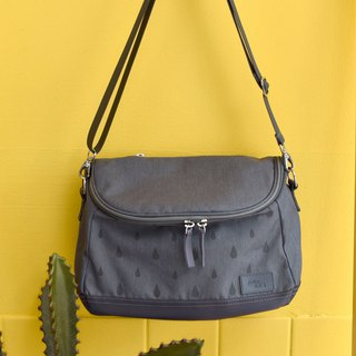 Gray small cross body bag