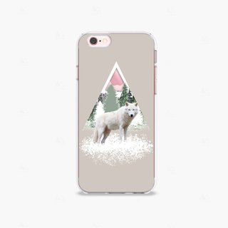 Wolf iPhone 7 Case Clear iPhone 8 Case Clear iPhone 7 Plus Case Clear iPhone 6S