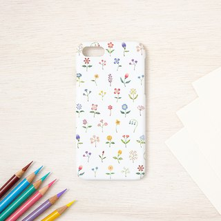 "Fragments of a picture book. Smart Case ""Multicolored Flower"" SC-95"