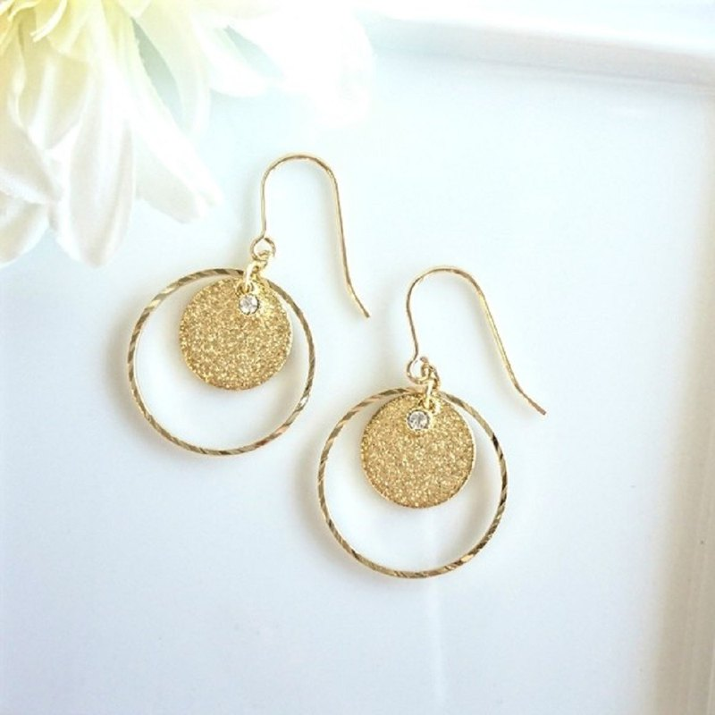 Stardust Ring Earrings