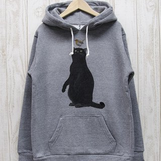 Black cat parker Robin (Heather Gray) / RPP017-GR