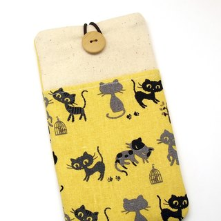 iPhone sleeve, Samsung Galaxy S8, Galaxy Note 8 pouch cover 自家制手提电话包, 手机布袋,布套 (可量身订制) (P-247)