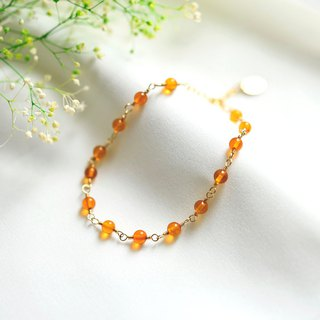 14kgf Poland natural amber amber bracelet also layered