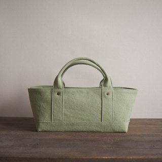 Tote with lid only Yokonaka (Wash Green)