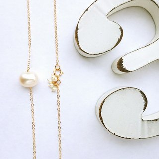 14 kgf * Japanese BIG pearl bubble necklace