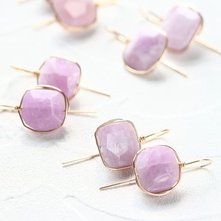 14 kgf - Sakura candy wrap pierced earrings