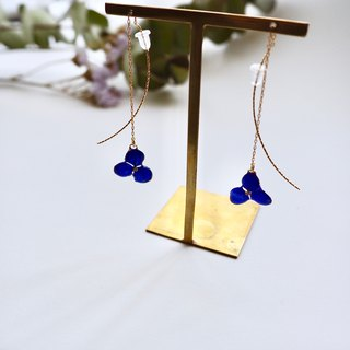 Hydrangea's American Earrings*Navy*