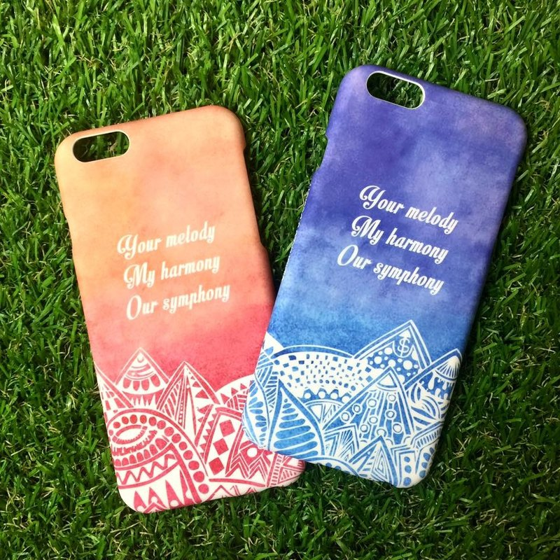 Personalised Phone Cover (Color, Letters... up to you!)