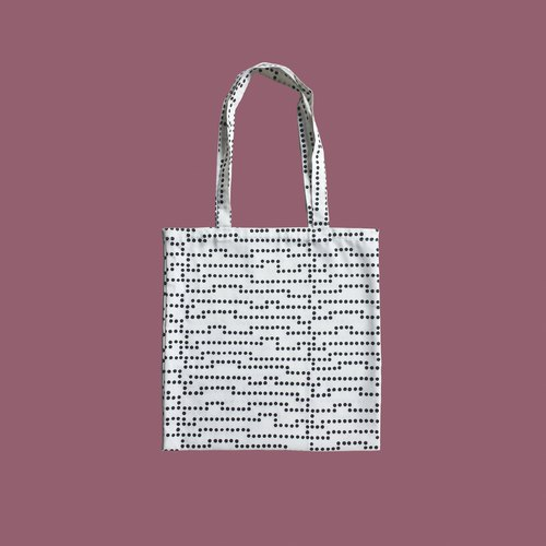 TOTE BAG IKEA FABRIC