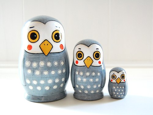 Matryoshka:Owl of the troubled face:No15