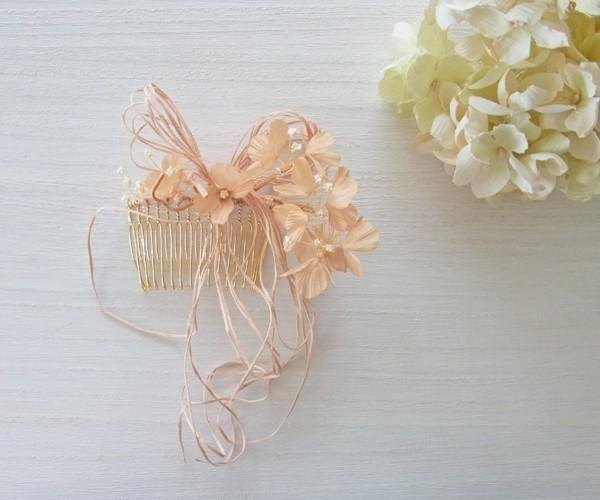 Botanical * Hair Comb (tea-dyed)
