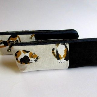Ten Ten Tent Wet Pen Case * Mique Cat