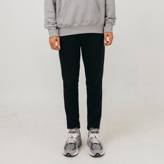 hao Black Cotton Pants 黑色纯棉裤