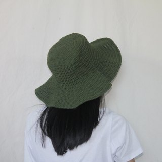 Green Hat ,Summer Hat ,Baby Hat ,Crochet Hat