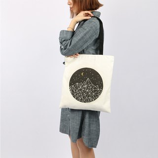 COLOURUP帆布包 托特包 侧背包tote bag 夜空