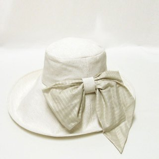 Capellin hat that can arrange scarf ribbon 【PL1222】 collar broad hat actress cap