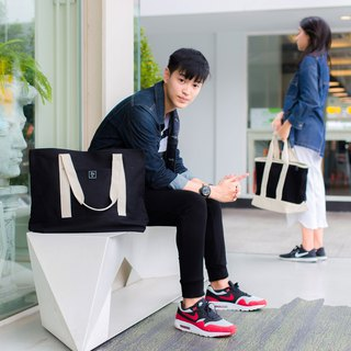 TOTE BAG / ZINC - METAL STREET / BLACK (ZN160801)