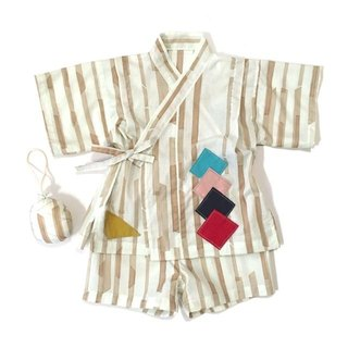 <JINBEI>Japanese summer clothes Kimono of the baby