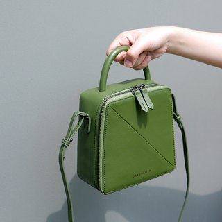 Butter Crossbody Bag in Olive Green
