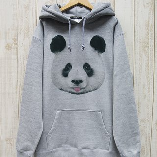 ronronPANDA BIG HOODIE Beh (Heather Gray) / RBP 005 - GR