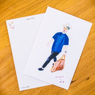 People in NY #1 postcard set (2 cards)