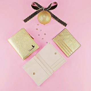 Lucky Set: special price 3 genuine leather mini wallets